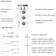 F&F Przekaźnik czasowy z podtrzymaniem 1P 8A 12÷264V AC/DC PCU-504 UNI