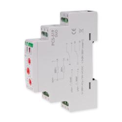 F&F Przekaźnik czasowy 2P 2x8A 230V/24V AC/DC wielofunkcyjny PCS-519DUO