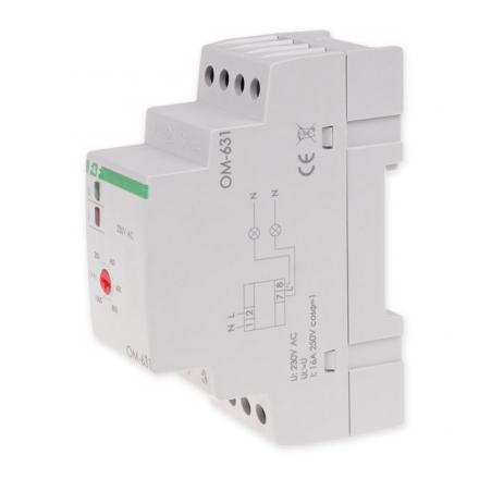 F&F Ogranicznik poboru mocy regulowany 200-1000W 1Z 16A OM-631