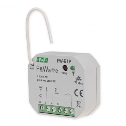 F&F Przekaźnik bistabliny pojedynczy do puszki sterowanie radiowe F&Wave FW-R1P