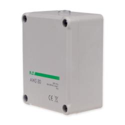 F&F Automat zmierzchowy hermetyczny 30A 230V 2-1000lx obudowa IP65 AWZ-30