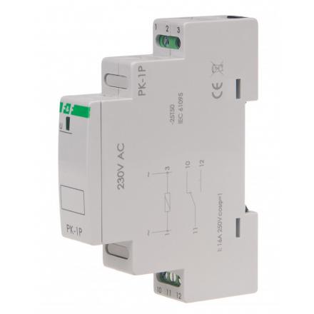 F&F Przekaźnik elektromagnetyczny 16A 230V PK-1P