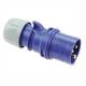 PCE Wtyczka przenośna IP44 16A 3P 230V 013-6