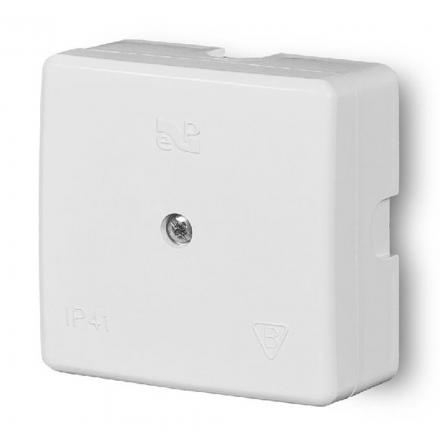 ELEKTRO-PLAST Puszka elektroinstalacyjna odgałęźna natynkowa IP41 biała 0236-00