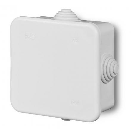 ELEKTRO-PLAST Puszka elektroinstalacyjna odgałęźna natynkowa IP42 biała 0214-00