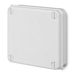 ELEKTRO-PLAST Puszka elektroinstalacyjna PK-3 odgałęźna natynkowa IP55 biała 0251-00