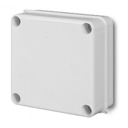 ELEKTRO-PLAST Puszka elektroinstalacyjna PK-1 odgałęźna natynkowa IP55 biała 0250-00