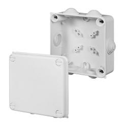 ELEKTRO-PLAST Puszka elektroinstalacyjna PK-4 odgałęźna natynkowa IP55 biała 0233-00
