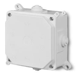 ELEKTRO-PLAST Puszka elektroinstalacyjna PK-2 odgałęźna natynkowa IP55 biała 0215-00