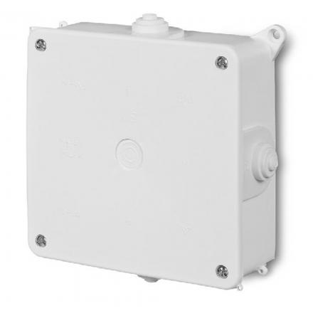 ELEKTRO-PLAST Puszka elektroinstalacyjna PK-4 odgałęźna natynkowa IP20 biała 0217-00