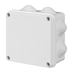 ELEKTRO-PLAST Puszka elektroinstalacyjna PK-5 odgałęźna natynkowa IP55 biała 0252-00