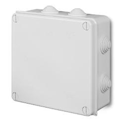 ELEKTRO-PLAST Puszka elektroinstalacyjna PK-7 odgałęźna natynkowa IP55 biała 0238-01