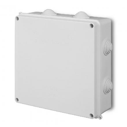 ELEKTRO-PLAST Puszka elektroinstalacyjna PK-8 odgałęźna natynkowa IP55 biała 0231-00
