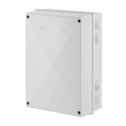 ELEKTRO-PLAST Puszka elektroinstalacyjna PK-9 odgałęźna natynkowa IP55 biała 0253-00