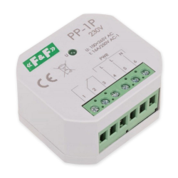 F&F Przekaźnik elektromagnetyczny podtynkowy do puszki 16A 230V AC PP-1P