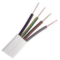 Mercor Przewód instalacyjny drut YDYp 4x1,5mm² 750V 1mb