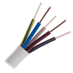 Przewód instalacyjny drut YDY 5x4mm² 750V 1mb