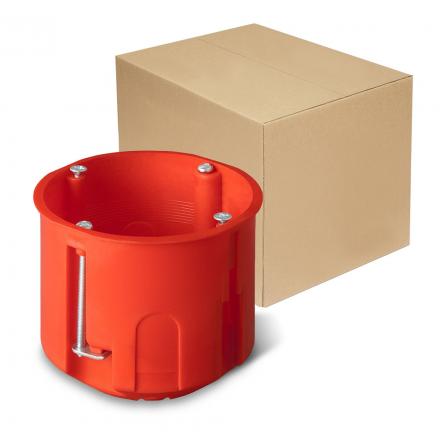 ELEKTRO-PLAST Puszka podtynkowa głęboka do regipsów z wkrętami PK-60/60 0220-00 opak. 40 szt.
