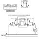 Wyłącznik łącznik krzyżowy - schemat podłączenia