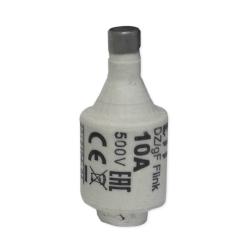 ETI Wkładka bezpiecznikowa 10A DII gF / BiWts 500V AC/440V DC E27 002312104