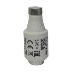 ETI Wkładka bezpiecznikowa 20A DII gF / BiWts 500V AC/440V DC E27 002312106