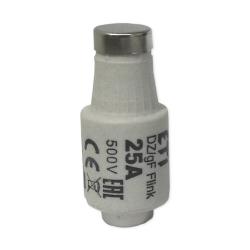 ETI Wkładka bezpiecznikowa 25A DII gF / BiWts 500V AC/440V DC E27 002312107