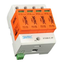SIMET Ogranicznik ochronnik przepięć 4P 30kA klasa B+C ST30B+C/4 85201010