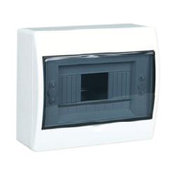 Elektro-Plast Rozdzielnica natynkowa 1x8 dymna RN-8 (N+PE) FALA 7.2