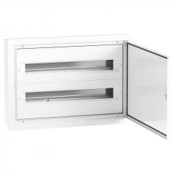 Elektro-Plast Rozdzielnica podtynkowa aluminiowa 2x24 DARP-48 (N+PE) QUITELINE 9.224