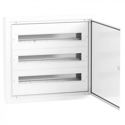 Elektro-Plast Rozdzielnica podtynkowa aluminiowa 3x24 DARP-72 (N+PE) QUITELINE 9.324