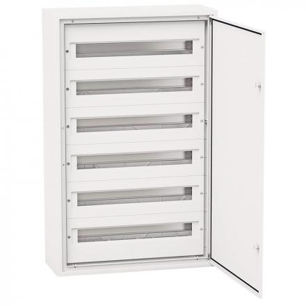 Elektro-Plast Rozdzielnica p/t aluminiowy front 6x24 DARP-144 (N+PE) QUITELINE 9.624