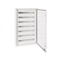 Elektro-Plast Rozdzielnica p/t aluminiowy front 7x24 DARP-168 (N+PE) QUITELINE 9.724