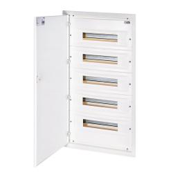ETI Rozdzielnica p/t metalowy front 5x18 ERP 18-5 (N+PE) DIDO 001101216