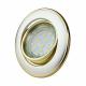 KOBI Oprawa oprawka halogenowa okrągła ruchoma perła/złoto