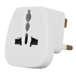 [OUTLET] LAMEX Adapter uniwersalny gniazda elektrycznego na wtyk angielski