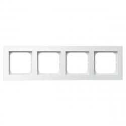 [OUTLET] OSPEL SONATA Ramka poczwórna x4 biała R-4R/00
