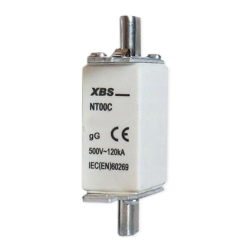 [OUTLET] XBS Wkładka bezpiecznikowa nożowa NT00C 20A gG 500V/120kA BE013