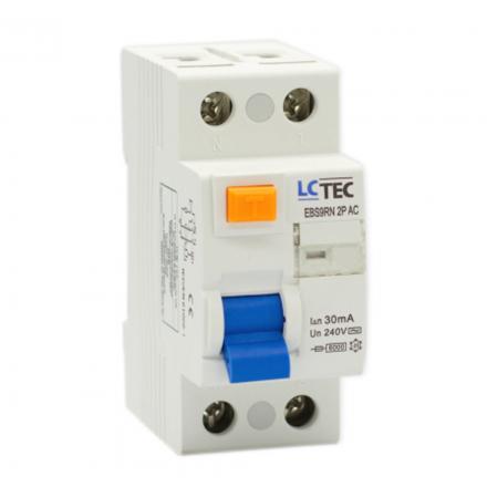 LC Wyłącznik różnicowoprądowy 2P 25A 30mA typ AC