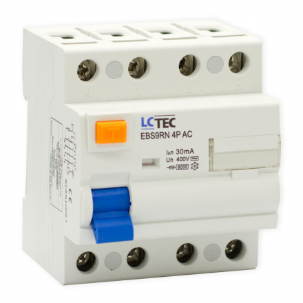 LC Wyłącznik różnicowoprądowy 4P 25A 30mA typ AC