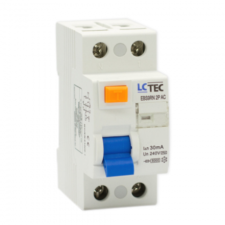 LC Wyłącznik różnicowoprądowy 2P 40A 30mA typ AC