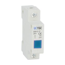LC Lampka sygnalizacyjna kontrolna LED 1F niebieska