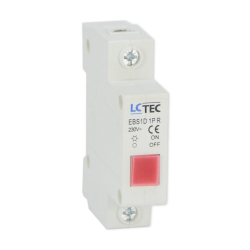 Lampka sygnalizacyjna kontrolna LED 1F czerwona