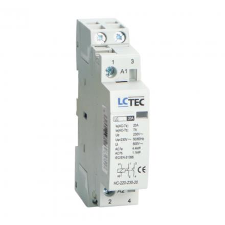 LC Stycznik modułowy 20A 230V 2Z 0R 1-MOD
