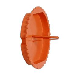 ELEKTRO-PLAST Zaślepka tynkarska do puszek podtynkowych PS60 pomarańczowa 10 szt.