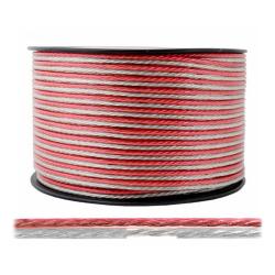 LEXTON Przewód kabel głośnikowy TLYp CCA 2x0,5mm² 100mb