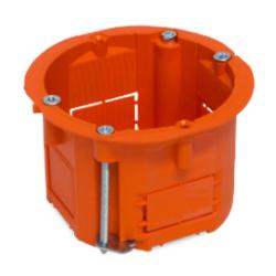 PLASTROL Puszka podtynkowa płytka do regipsów z wkrętami PK-60/45 PK-60G