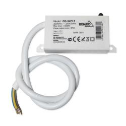 BEMKO Automat czujnik zmierzchowy hermetyczny IP54 1500W natynkowy WZ-15