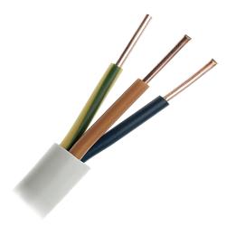 Przewód instalacyjny drut YDYp 3x2,5mm² 750V 1mb