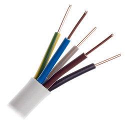 Przewód instalacyjny drut YDY 5x1,5mm² 750V 1mb