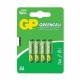 GP Bateria GreenCell R3 AAA 1.5V 4szt.